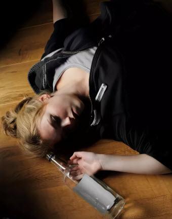 Приступ алкогольной эпилепсии